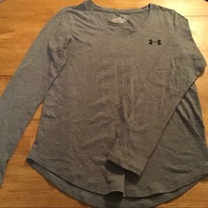 Under Armour X-Small gray long sleeve top